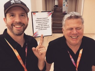 June 21, 2017 - Ben Churchill and Tommy Edison at VidCon 2017