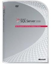 SQL 2008 Server Box Shot