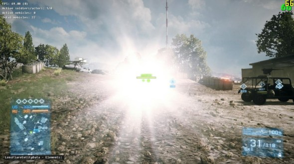 BF3 Tactical Light Nerf - before