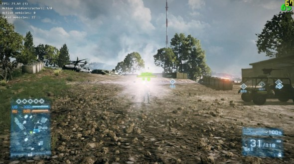 BF3 Tactical Light Nerf - after