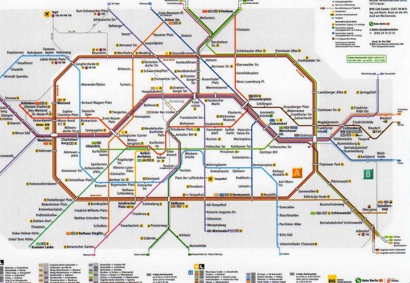 Berlin Tommy Ooi Travel Guide - Berlin map 2017
