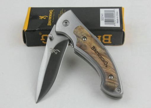 Browning Stainless Steel Folding Knife