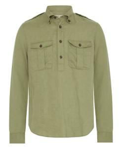 RM Williams Military Brigalow Work Shirt