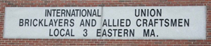 Bricklayers & Allied Craftsmen Union Local 3 MA ME NH RI banner