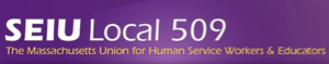 SEIU Local 509 banner