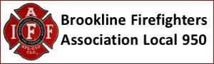Brookline Fire Fighters Association Local 950 banner