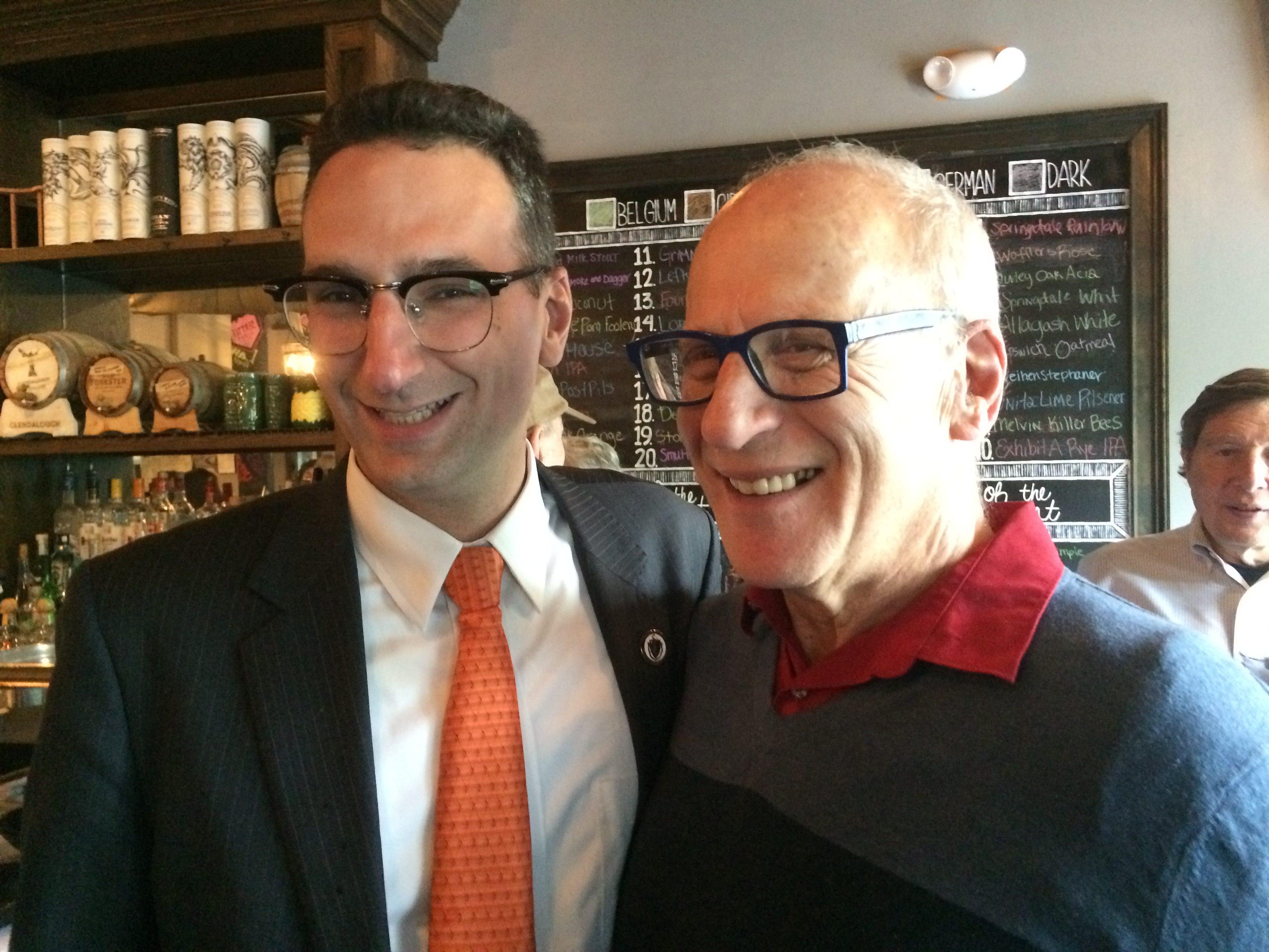 Tommy Vitolo and Frank Smizik