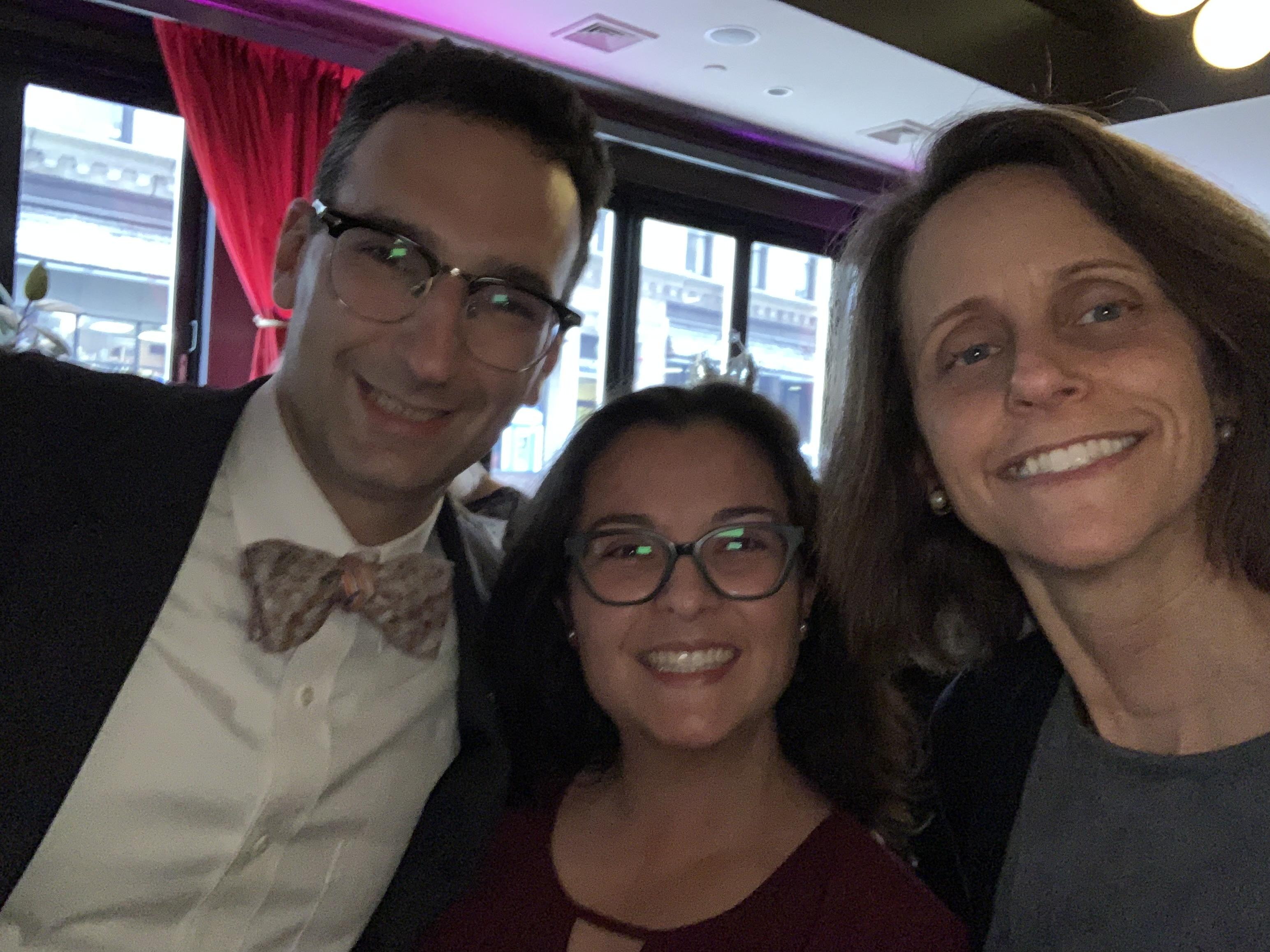 Tommy Vitolo, Jen Stevenson Zepeda, and Emily Norton