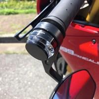 1199PANIGALE Rに取付けていたバーエンドミラー&バーエンドウィンカーはコレです。