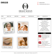 Oralie Malyin - Make up artist