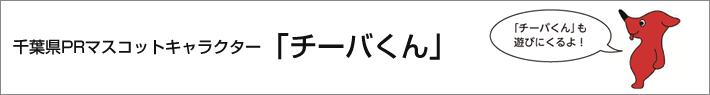 千葉県PR マスコットキャラクター 「チーバくん」