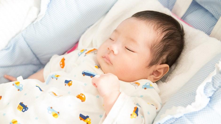 赤ちゃんの寝顔イメージ画像