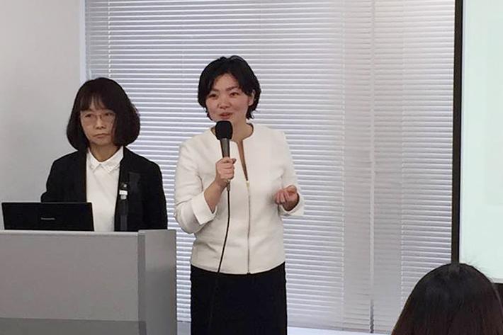 株式会社妊娠デトックスラボ代表取締役の松田あや子さんによるデトックス講座