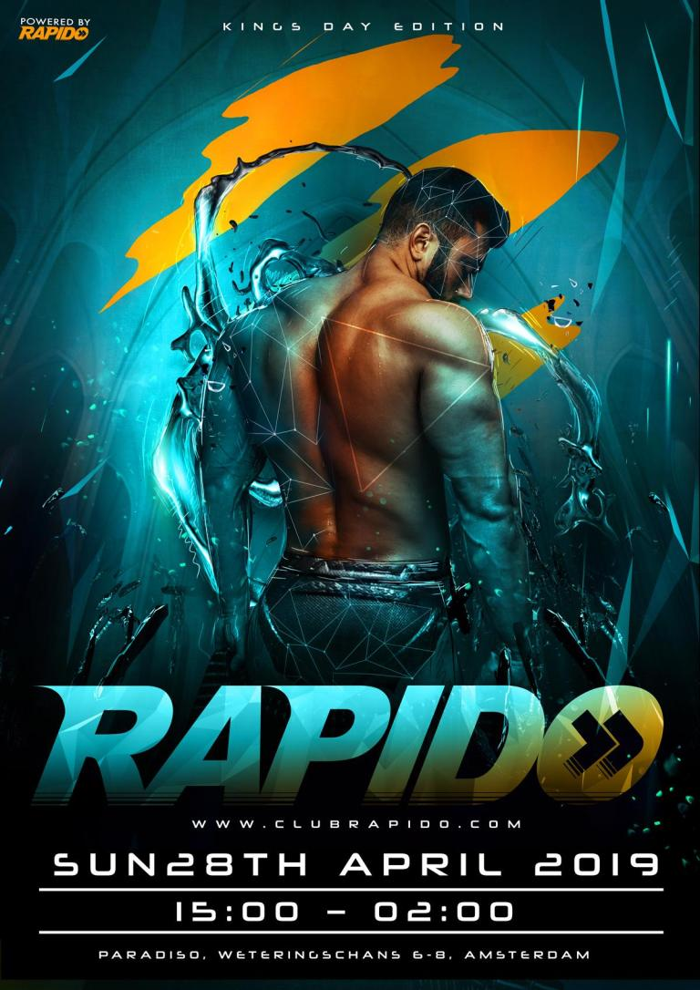 Rapido - the King edition - Gay Circuit Party Amsterdam