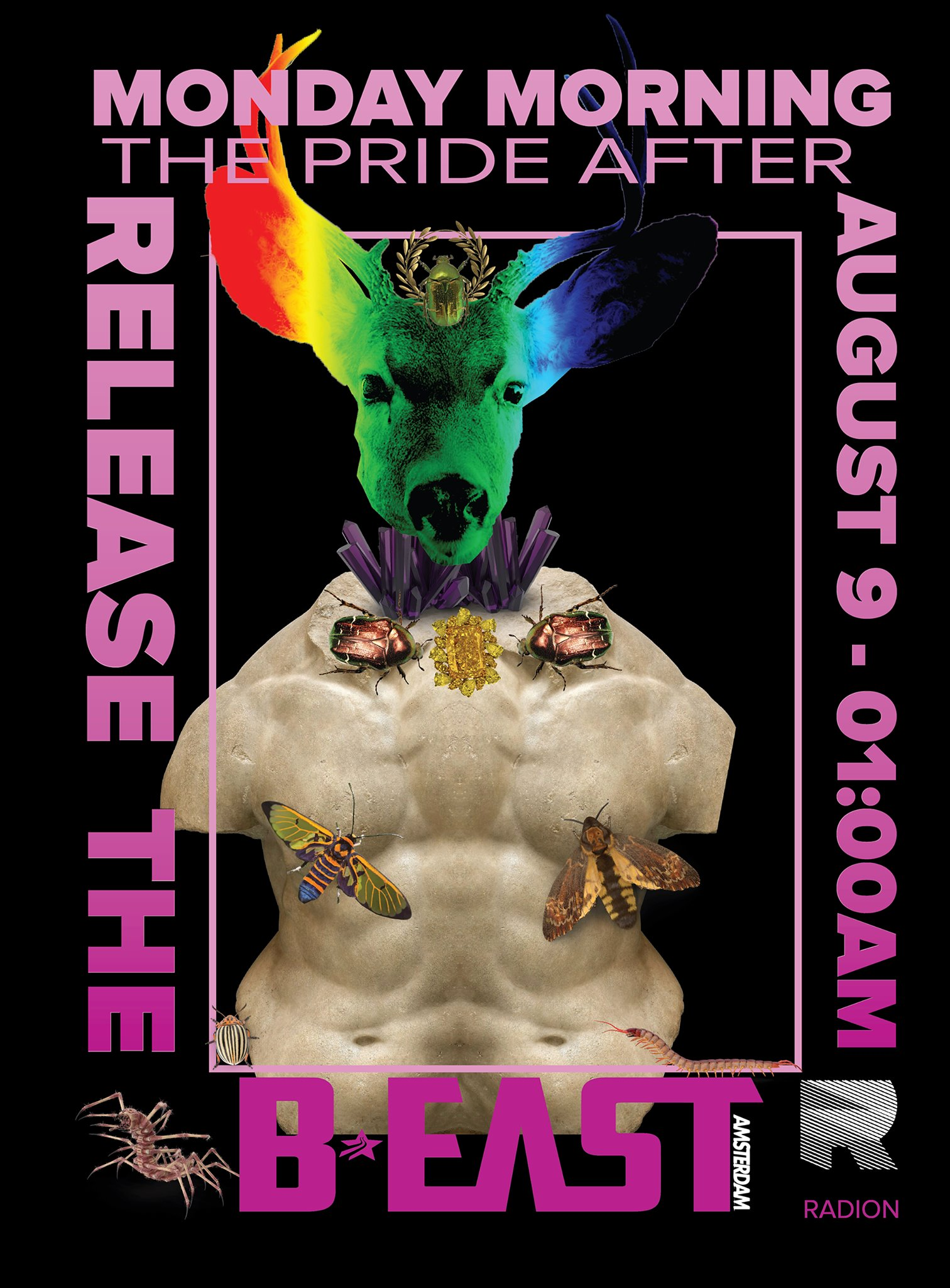 B:EAST / Pride AFTER - 2021 - Gay Techno Pride After Party