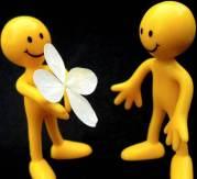 Zufällige Aktionen der Freundlichkeit (random acts of kindness)