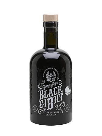 pirate's grog black eight, coffee rum, rum, pirates grog