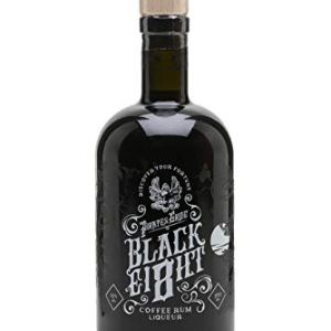 pirate's grog black eight, coffee rum, rum, pirates grog