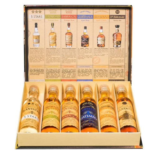 plantation gift set, cigar box, rum, plantation cigar box