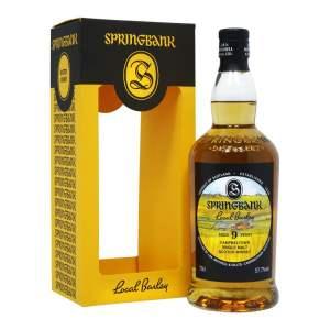 Springbank Local Barley, 9 year old, whisky, springbank