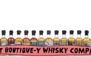 that boutique-y whisky company logo,