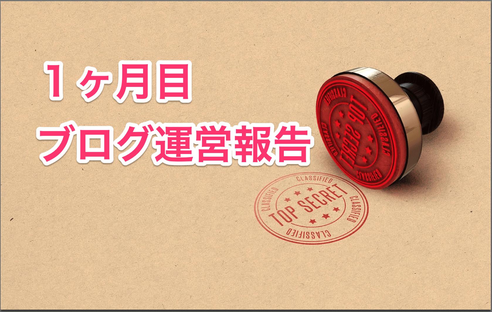 【ブログ運営報告】初心者ブログが1ヶ月目で1日100PV達成!【PV数、収益は?】