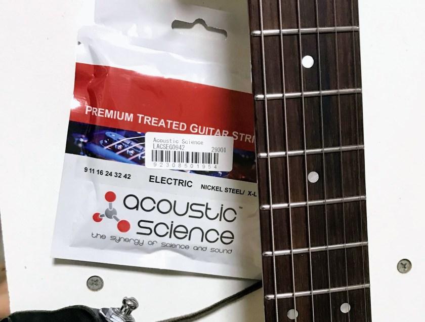 acoustic scienseのパッケージの画像