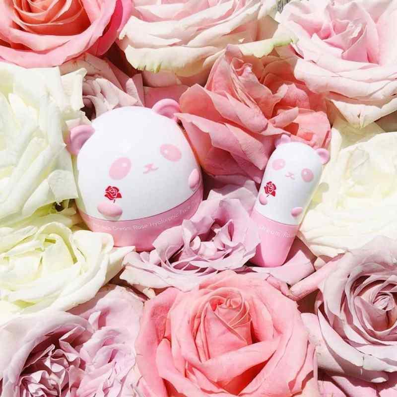 Panda's Dream Rose Hyaluronic Face Cream Tony Moly mejores cremas hidratantes coreanas