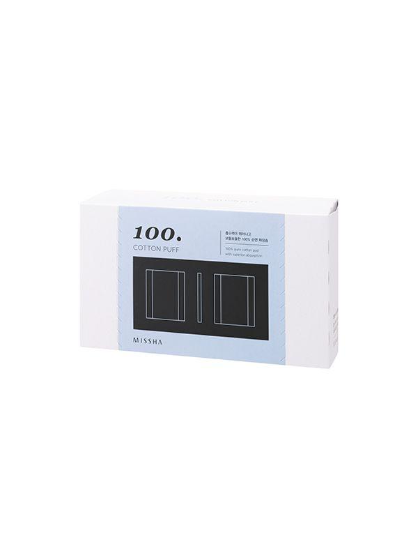 Cotton Puff 100 (Missha) discos de algodón