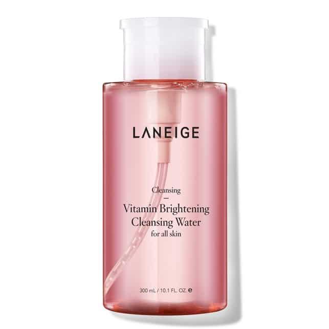 Vitamin Brightening Cleansing Water (Laneige) aceites desmaquillantes coreanos