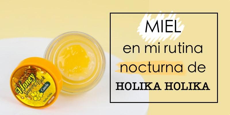 holika holika honey sleeping pack