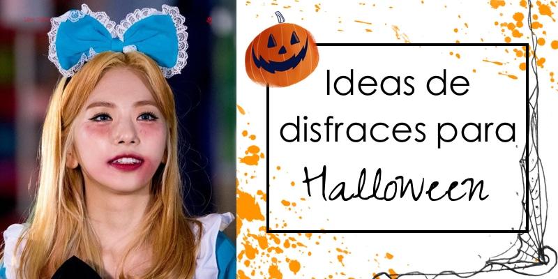 Ideas de disfraces de Halloween kpop