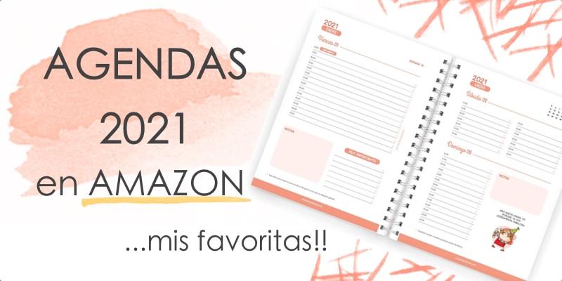 agendas 2021 en Amazon