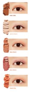 sombras de ojos coreanas