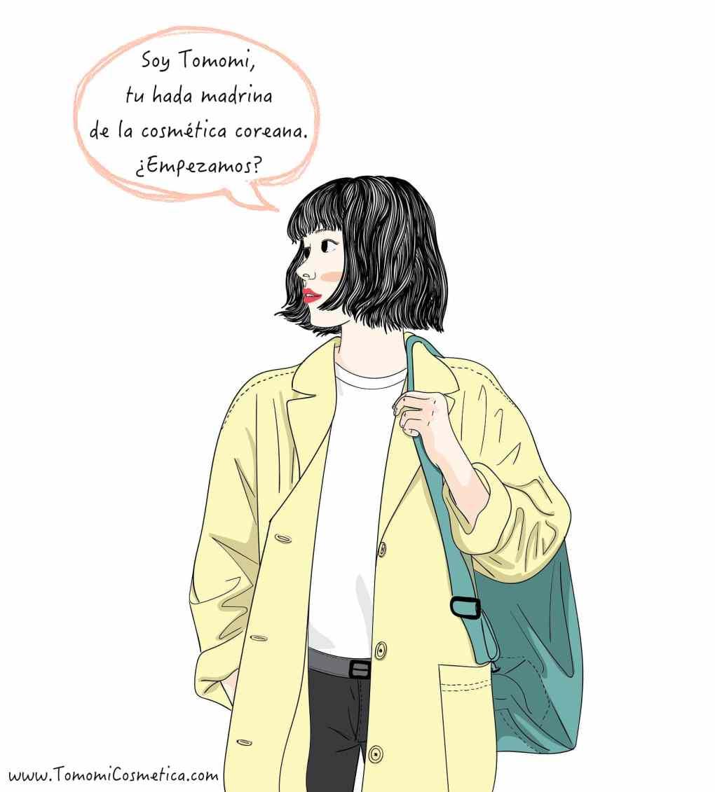 Tomomi qué es la cosmetica coreana