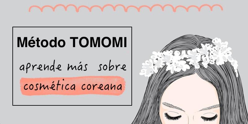 método tomomi de cosmética coreana