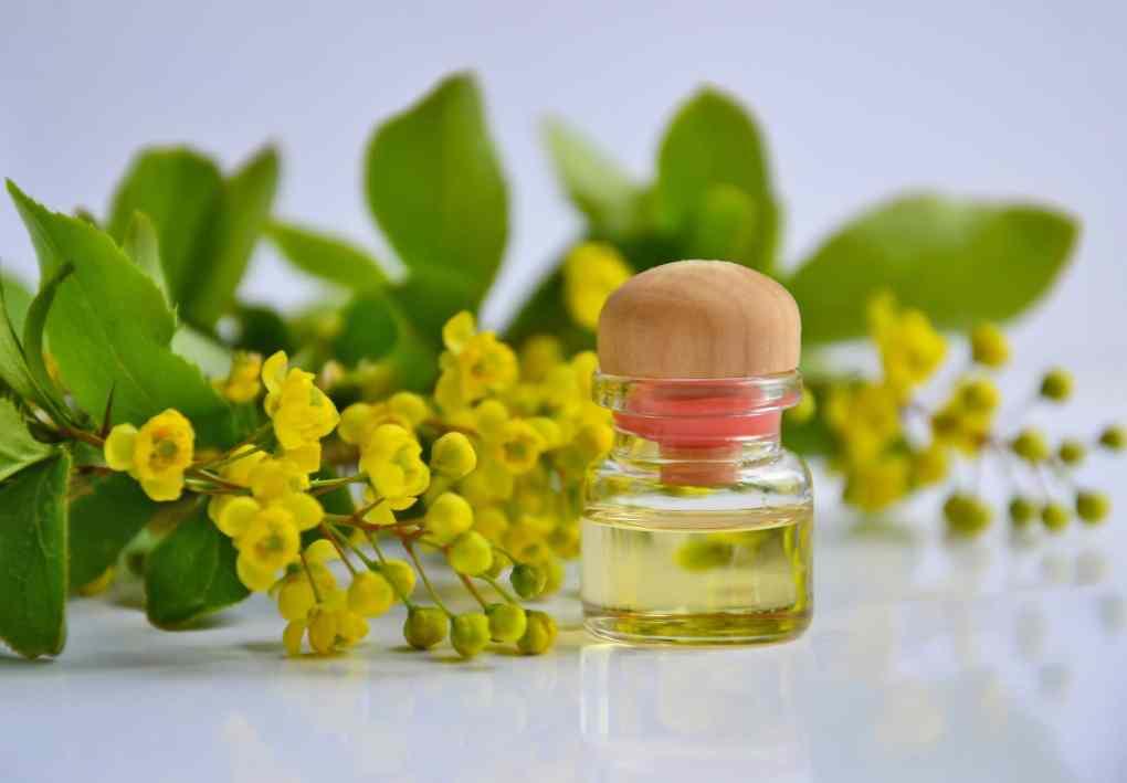 aceite cosmético para la piel