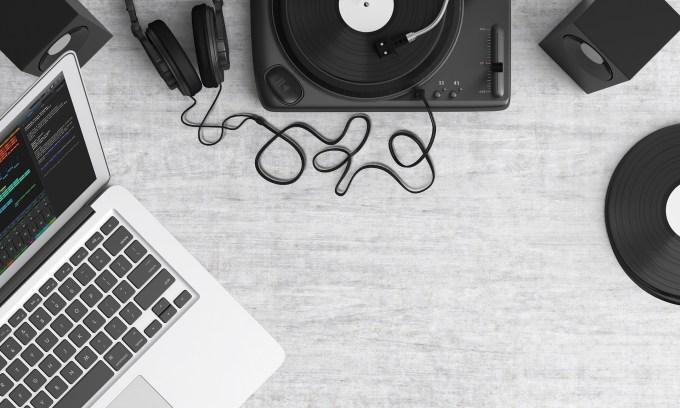 パソコンで音楽