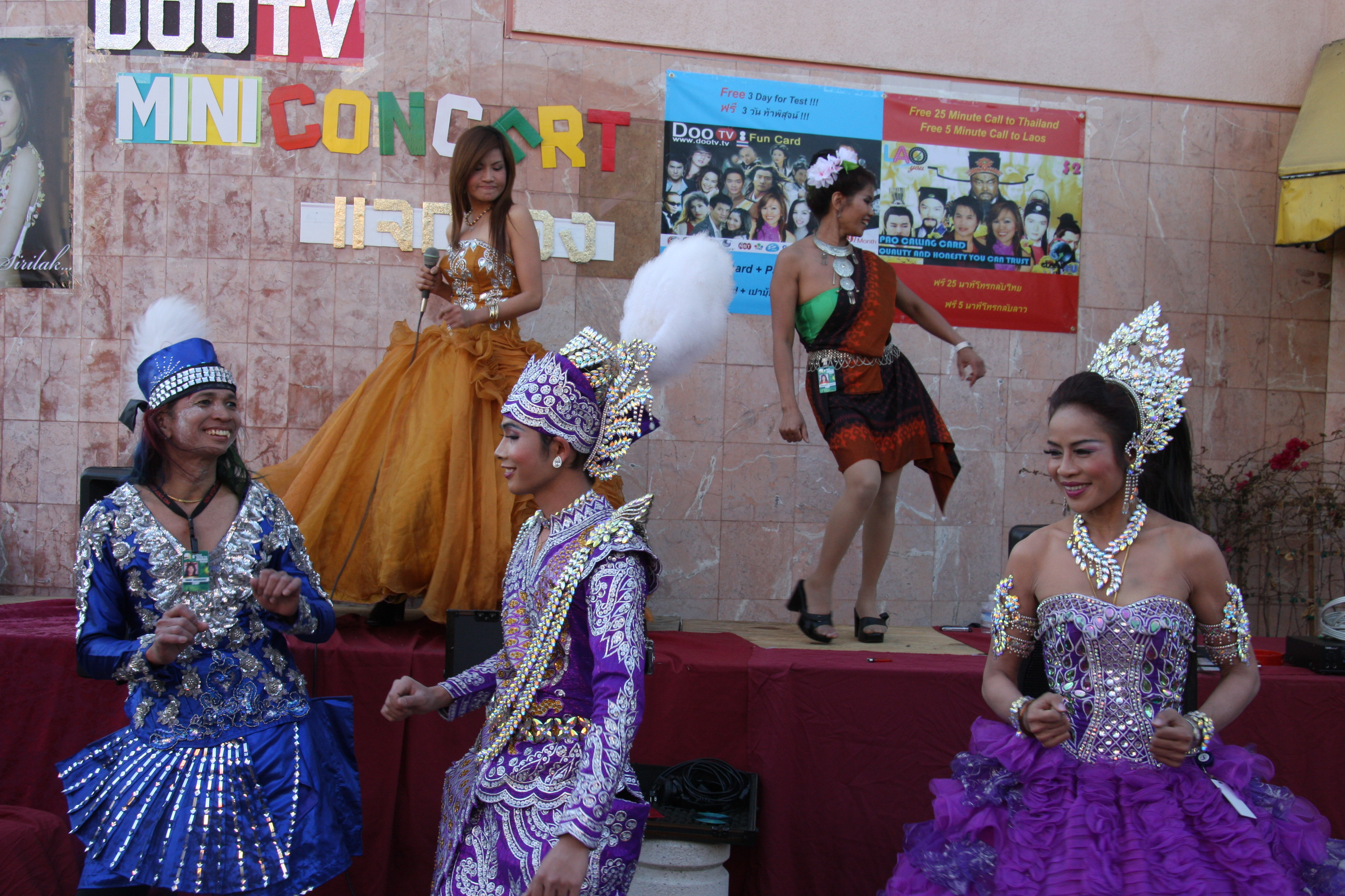 Festival entertainment