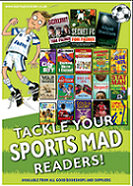 Sports Mad Barrington Stoke Book Poster