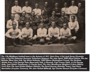 footballers batallion 1917