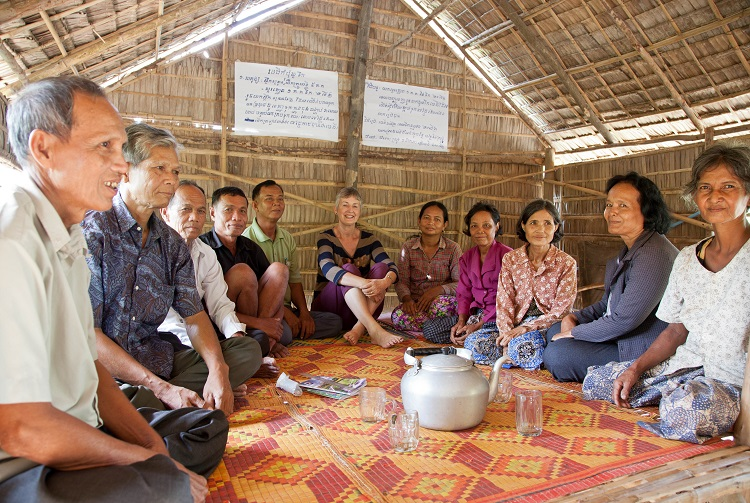Cambodian Farmer Field School: Learning Together While Sitting on the Floor
