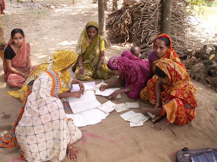 Women's Saving Circle Group in Bangladesh: Keeping Accounts Correct!