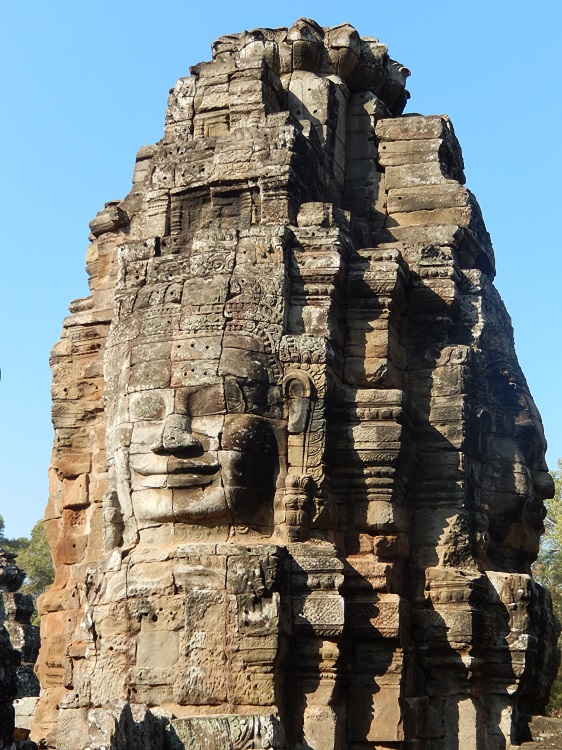 Smiling Buddha at Angkor Wat