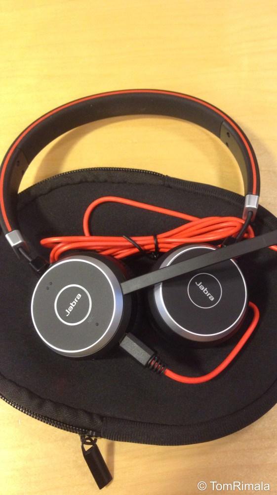 Lync headset: Jabra Evolve 65 MS, Stereo review (1/3)
