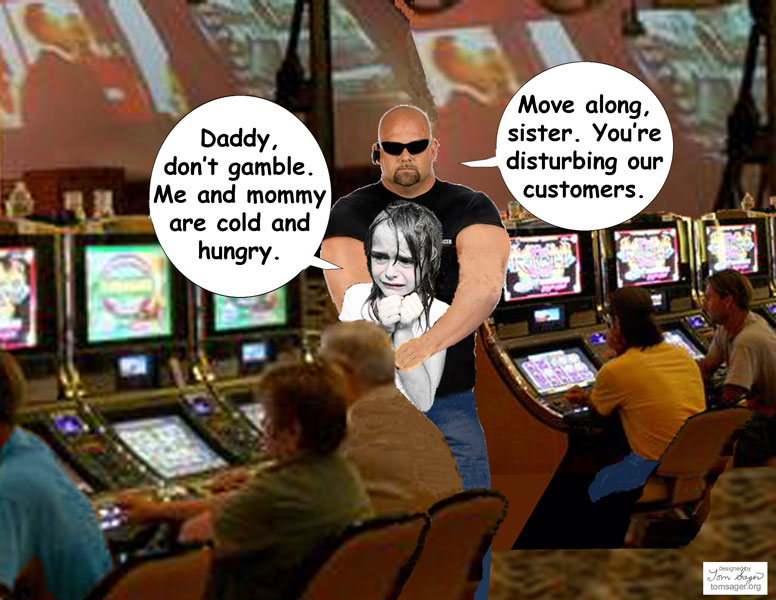 Daddy Dont Gamble Cartoon
