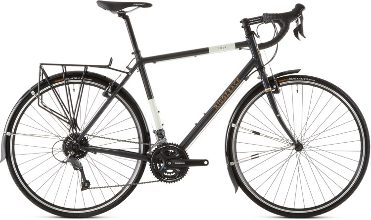 70a684c03ec The Tour – the cheapest of Ridgeback's touring bike range – has much in  common with its more expensive siblings, but with a cost‐saving aluminium  frame and ...