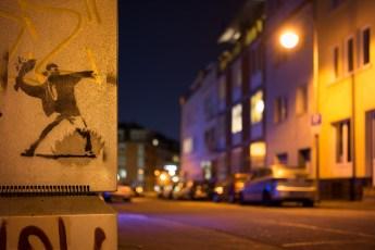 Resistance graffiti, Cologne.
