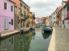 Quiet canal in Burano
