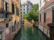 Quiet canal in Cannaregio